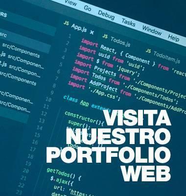 Visita nuestro porfolio de trabajos web